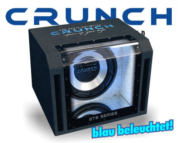 Crunch GTS Bandpass Subwoofer GTS-350