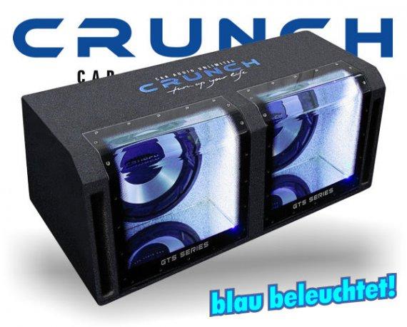 Crunch GTS Bandpass Subwoofer GTS-800