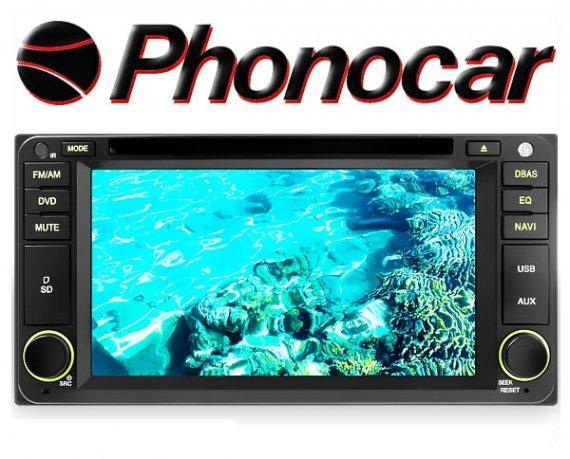 Phonocar Toyota 6.5 Tochscreen Multimedia Station DVD Bluetooth USB GPS