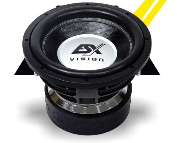 ESX Subwoofer Bass Vision VE-1222