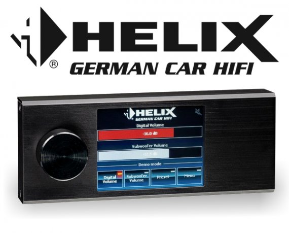 Helix DSP Touchscreen-Display Fernbedienung DIRECTOR