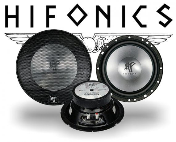 Hifonics Atlas Kickbass Subwoofer AS-6.2W