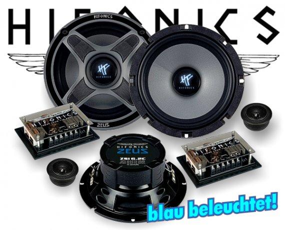 Hifonics Zeus 2-Wege Auto Lautsprecher System ZSi-6.2C