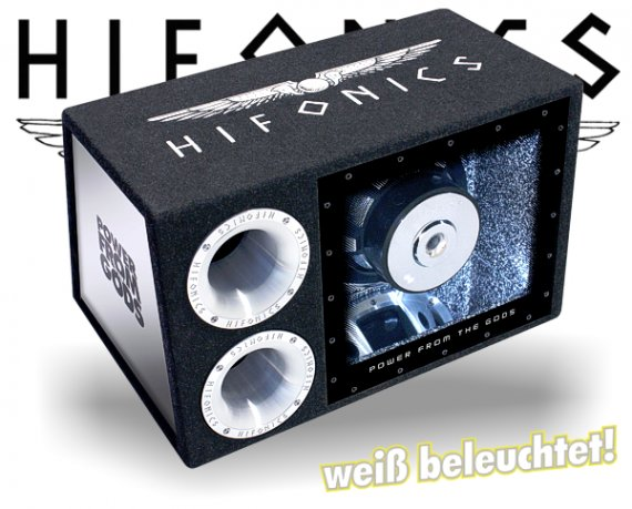 Hifonics Atlas Bassbox Single Bandpass ATL-12BPS