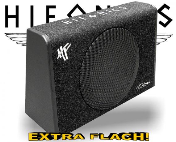 Hifonics Triton Subwoofer Bassreflex TRS-300 extra flach