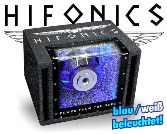 Hifonics Titan Bandpass TX-8 BPi mit Beleuchtung