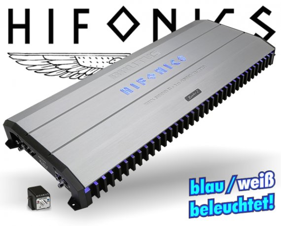 Hifonics Subwoofer Endstufe Brutus BRX-9000D