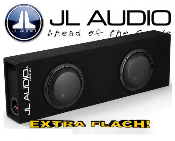 JL Audio W3-Serie Dual Bassreflex CP208LG-W3v3