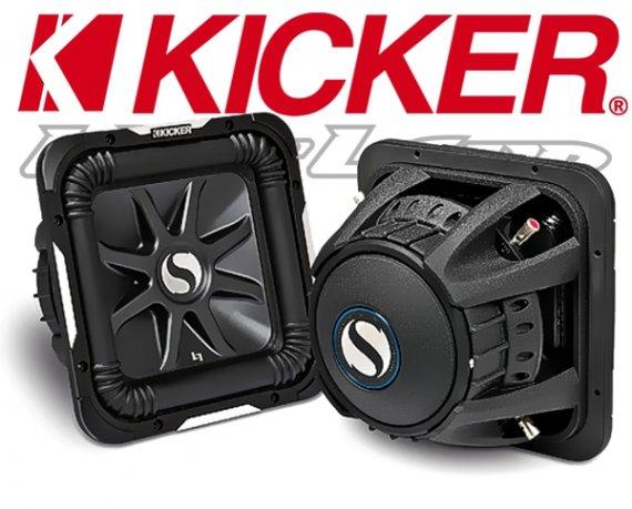 Kicker Subwoofer SoloBaric L7 S12L74 2x 4ohm 1500W 30cm