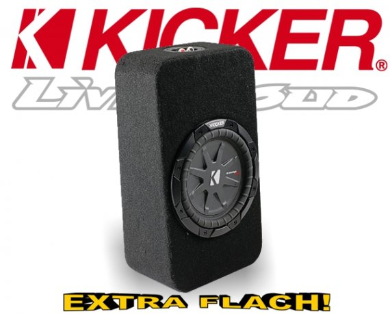 Kicker Subwoofer TComp RT82  Mini Bassbox