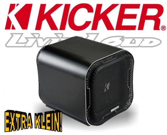 Kicker Mini Subwoofer Bassbox Q-Class L7QB82 2ohm 1000W