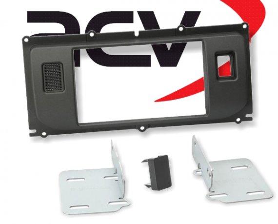 Radioblende Doppel-DIN Einbaukit Land Rover Evoque ohne PDC ab 2011 anthrazit