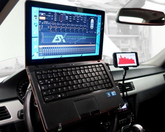 Laptophalter Lenkrad Notebook Tablet Halterung Auto universell LH1