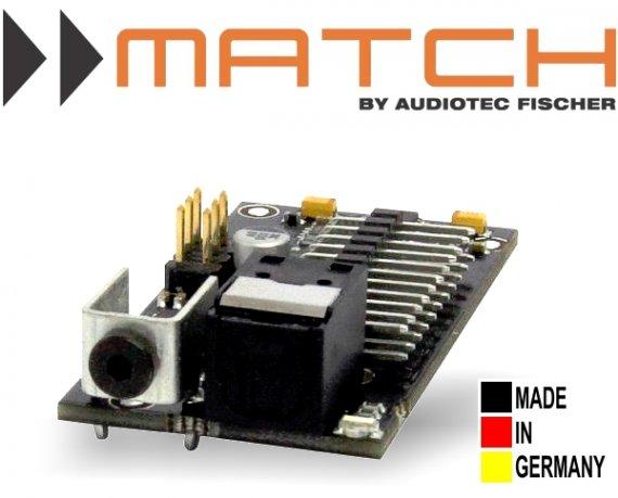 Match MEC Optical In Modul für Plug&Play DSP Verstärker PP62DSP