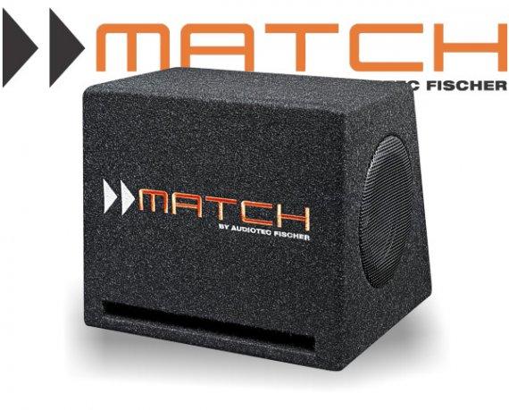 Match 2x 7 16,5cm Plug&Play Bassreflex-Subwoofer PP 7E-D