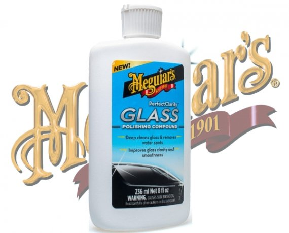 Meguiars Glaspolitur Glass Polishing Compound G-8408