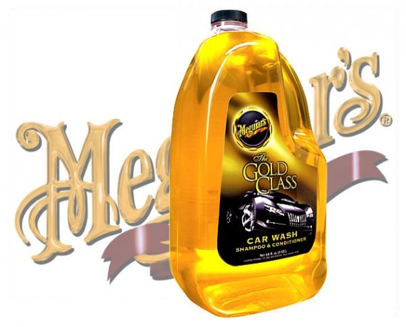 Meguiars Goldclass Autoshampo Car Wash Shampoo G-7164 1,9 Liter