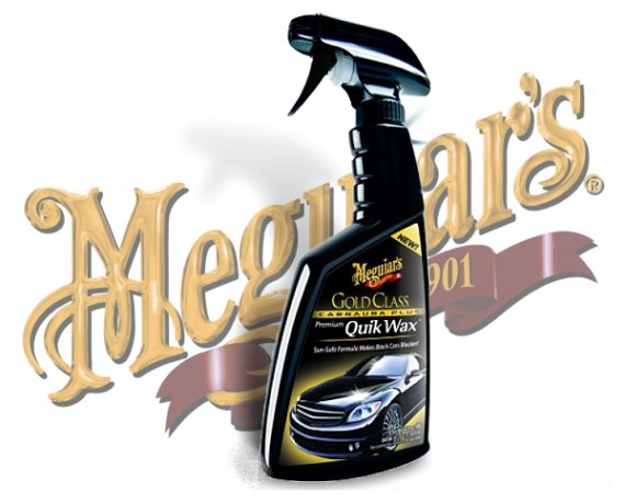 Meguiars Gold Class Quik Wax Spray Wachs G-7716