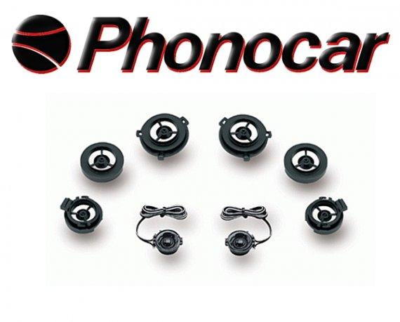 Phonocar Hochtöner Tweeter Pro-Tech 80W 2/468