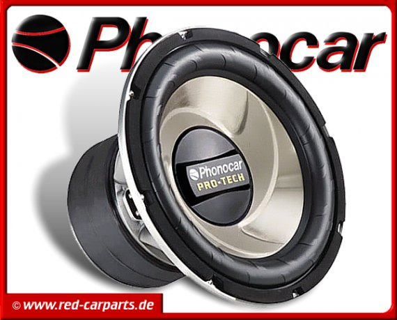 Phonocar Pro-Tech Subwoofer Bass 380mm 2x700W 2/771