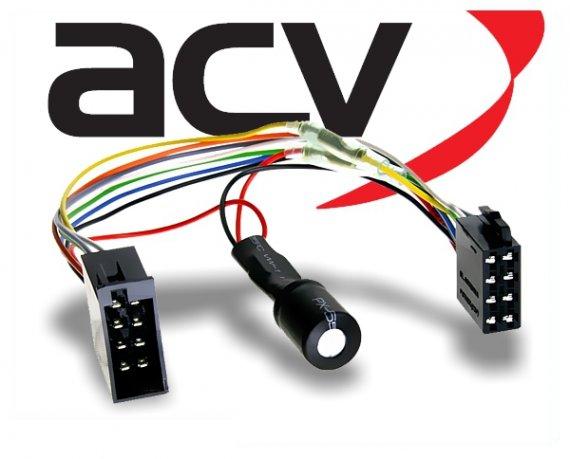 Radioadapter Autoradio Adapter mit Spannungsstabilisator ISO