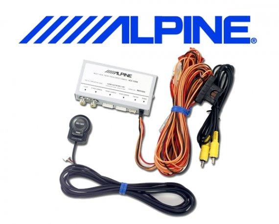 Alpine Multi-Kamera-Anschlußbox für 2 Multiview-Kameras KCX-C200B