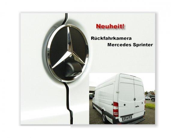 Rückfahrkamera fahrzeugspezifisch Mercedes Sprinter ab 2006