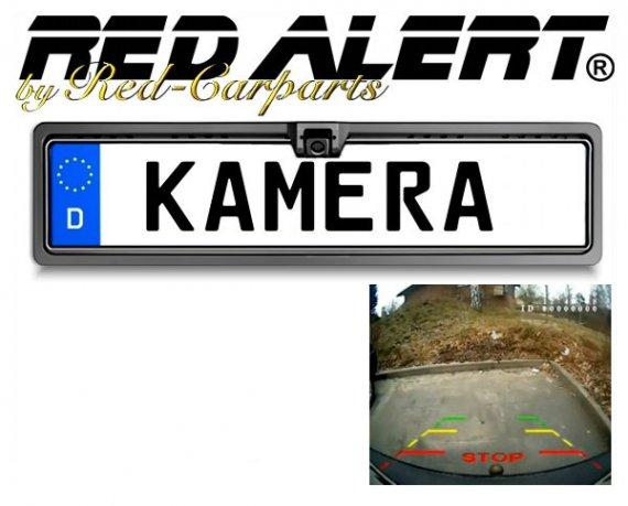 Rückfahrkamera mit Nummernschildhalter
