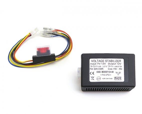 Spannungsstabilisator Voltage Stabilizer verhindert Radio-Neustart bei Start/Stop-Automatik