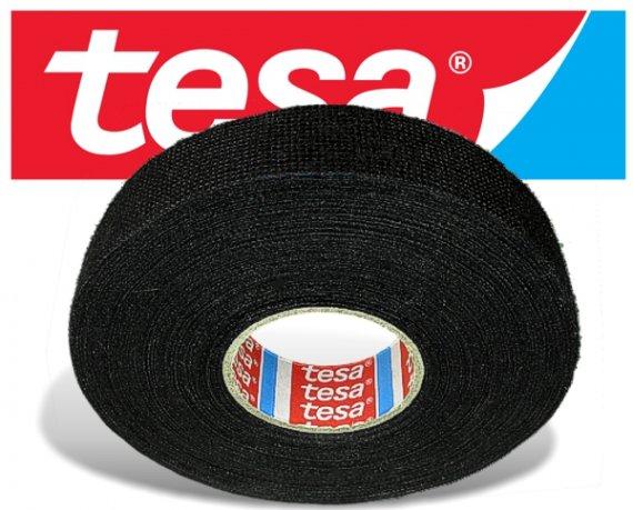 TESA Gewebeband / Textilband selbstklebend, 25m x 19mm