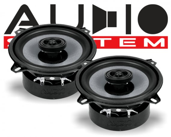 Audio System 2-Wege Lautsprecher Koax CO 130 EVO