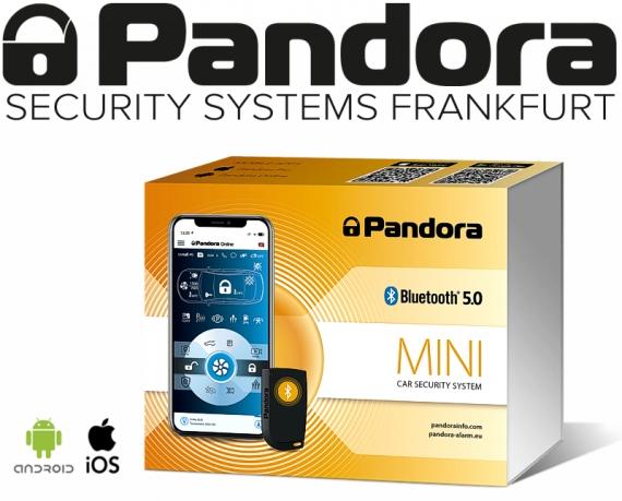 Pandora Autoalarmanlage Mini V3 mit App und Bluetooth 5.0
