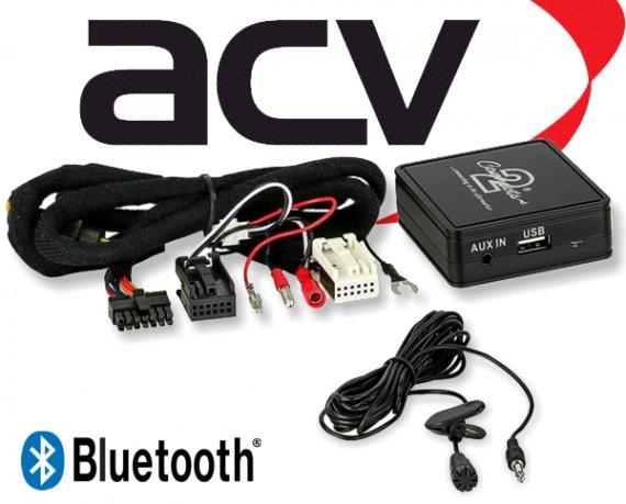 Bluetooth Empfänger zum Nachrüsten Adapter Schnittstelle für Audi 58-004 Quadlock