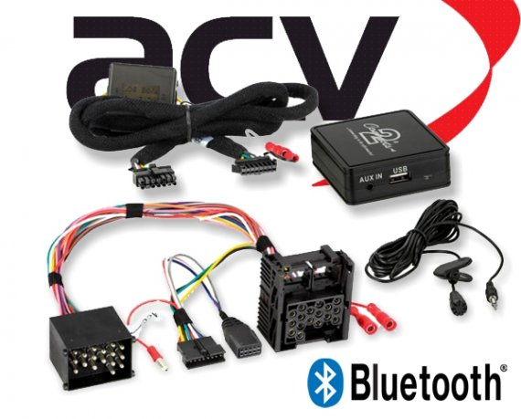 Bluetooth Empfänger zum Nachrüsten Adapter Schnittstelle für BMW 58-007 17 Pin
