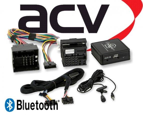 Bluetooth Empfänger zum Nachrüsten Adapter Schnittstelle für Opel 58-001 CD 30 mit AUX