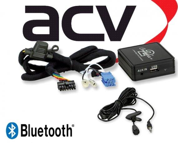Bluetooth Empfänger zum Nachrüsten Adapter Schnittstelle für Peugeot 58-010 ISO