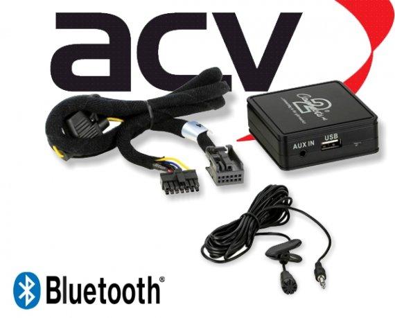 Bluetooth Empfänger zum Nachrüsten Adapter Schnittstelle für Peugeot 58-011 Quadlock