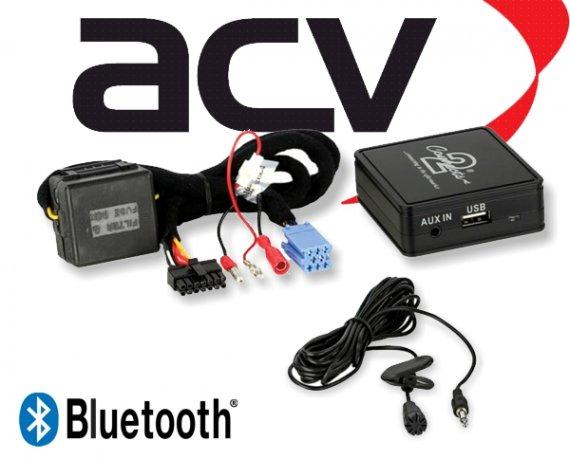 Bluetooth Empfänger zum Nachrüsten Adapter Schnittstelle für Renault 58-003 ISO