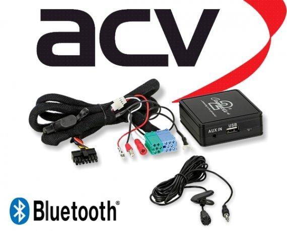 Bluetooth Empfänger zum Nachrüsten Adapter Schnittstelle für Skoda 58-001 ISO
