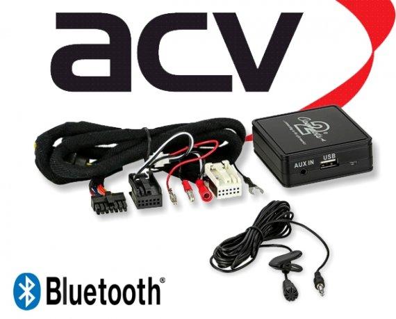 Bluetooth Empfänger zum Nachrüsten Adapter Schnittstelle für Skoda 58-002 Quadlock
