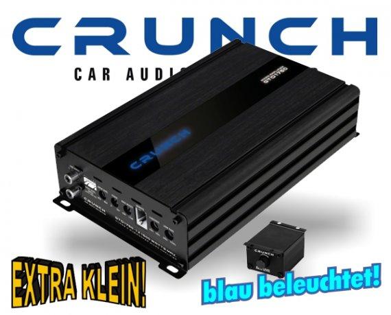 Crunch GTO Micro Auto Verstärker Bass Endstufe GTO-1750 1x 1500W