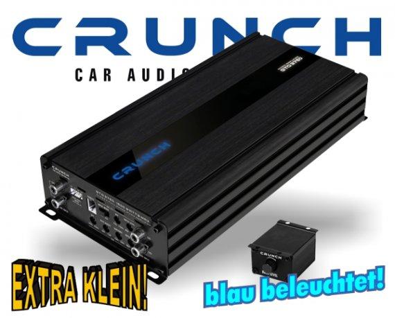 Crunch GTO Micro Auto Verstärker 3-Kanal GTO-3750 2x 250W + 1x 1000W