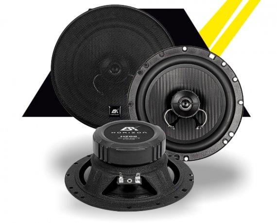 ESX Autolautsprecher Horizon 2-Wege Koax HZ-62 165mm 180W