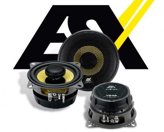 ESX Vision 2-Wege Auto Lautsprecher Koax VE-42