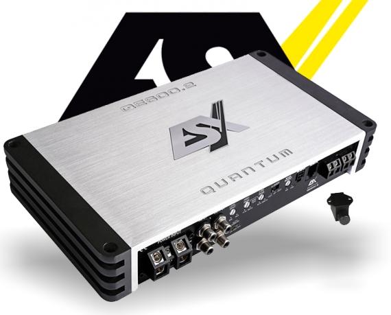 ESX Quantum Verstärker Endstufe QE600.2 2x 300W