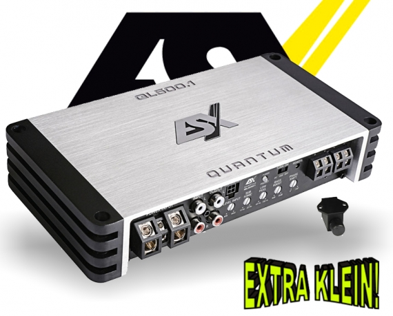 ESX Quantum Verstärker Endstufe QL500.1 1x 500W