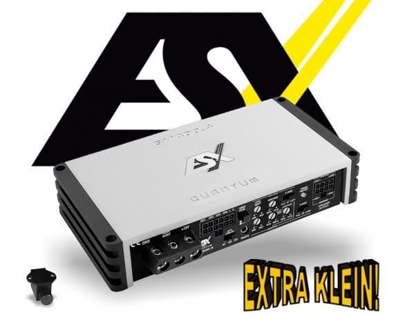 ESX Quantum Mini Verstärker Endstufe QM-400.4 4x 225W