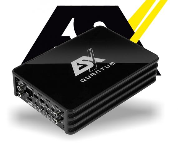 ESX Quantum Micro Verstärker Endstufe Q-FOUR v2 LKW 24V
