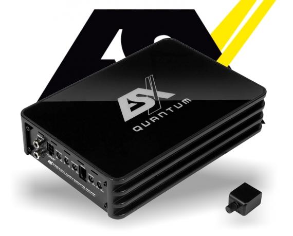 ESX Quantum Micro Verstärker Endstufe Q-ONE v2