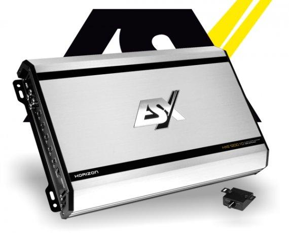 ESX Auto Verstärker Subwoofer Endstufe HXE1200.1D 1x 1200W